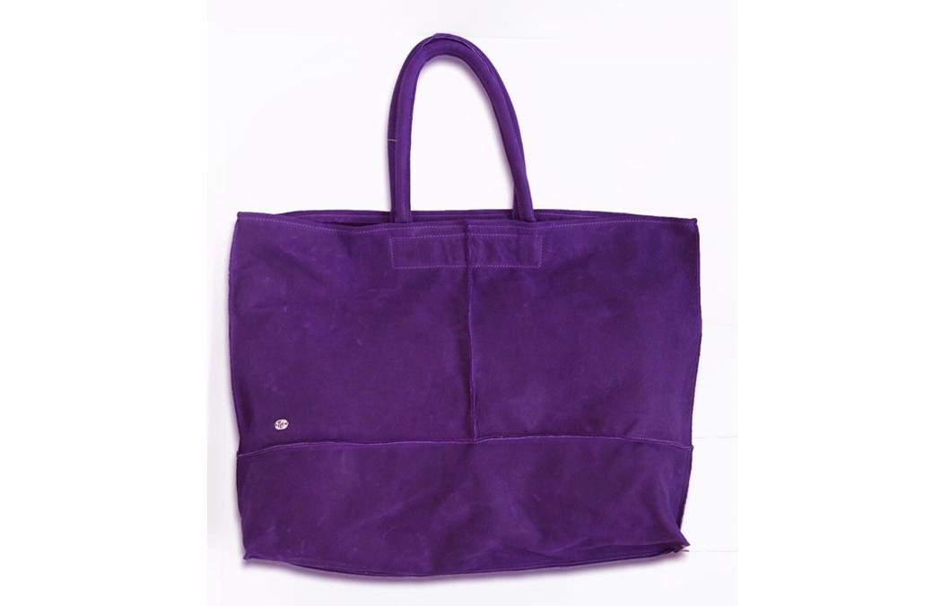 geanta mare violet