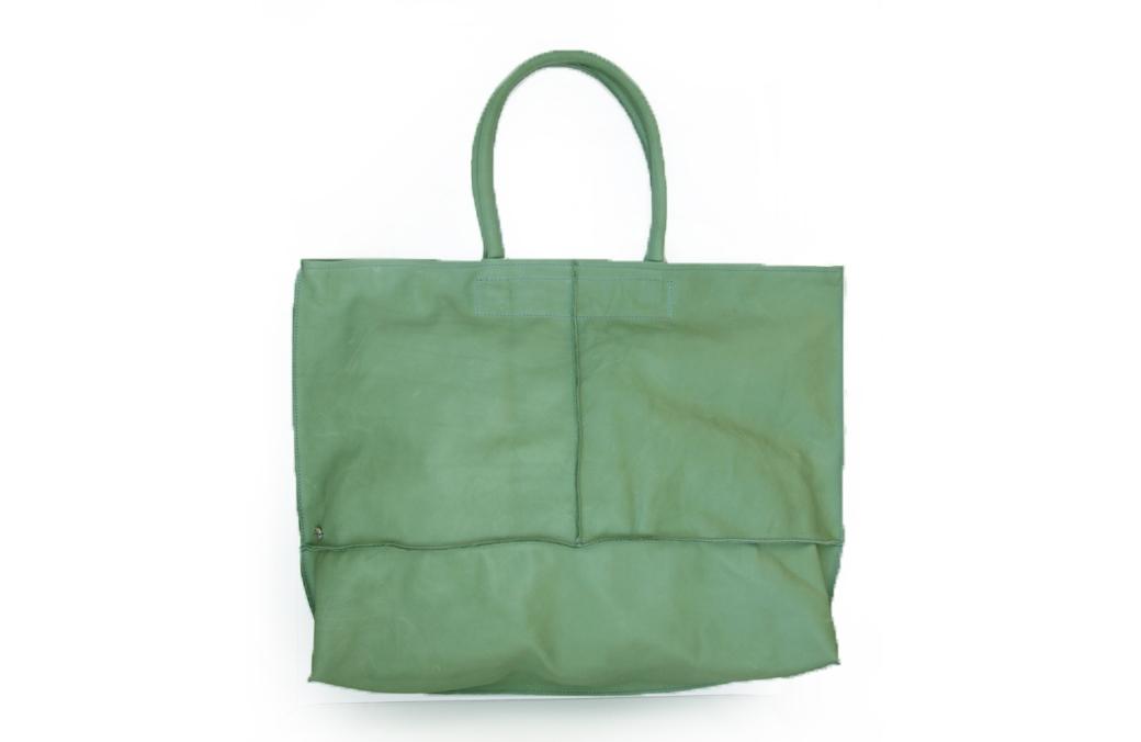 geanta mare verde deschis