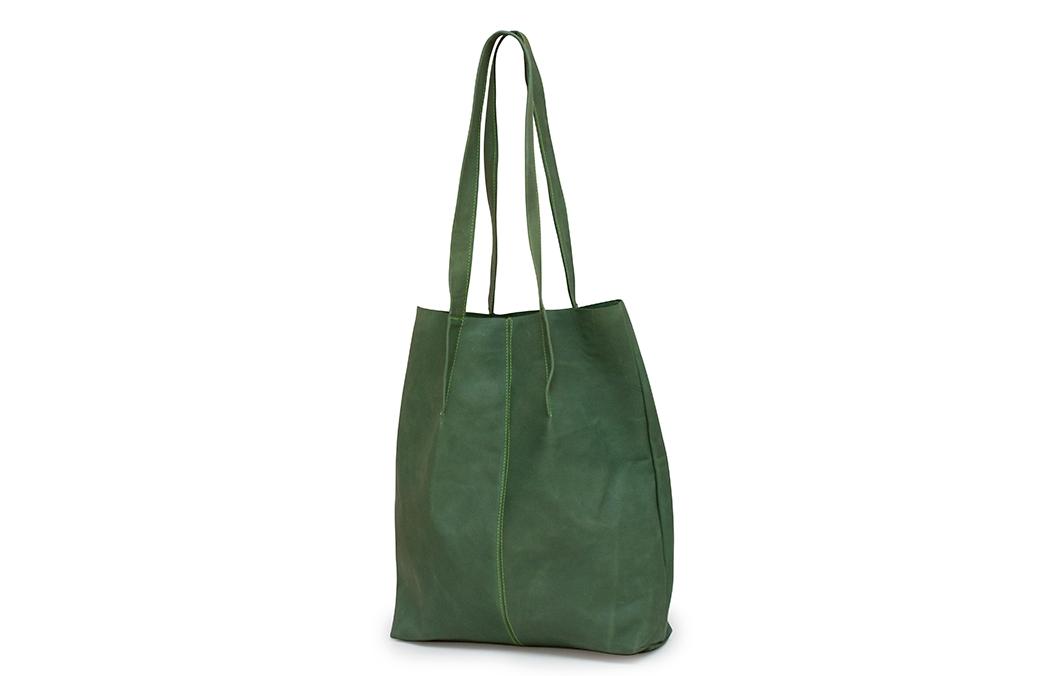 geanta mare verde
