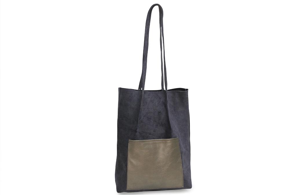shopper bag indigo