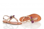 sandale cu libelule