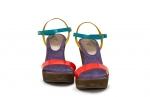 (RO) sandale cu fermoar