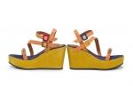 sandale calypso cu margele