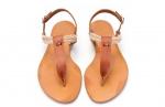 sandale cu margele si sfoara