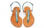 bicolor sandals
