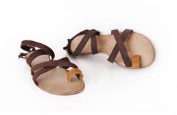 """sandale """"jeez"""" maro"""