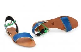 (RO) sandale clara albastru
