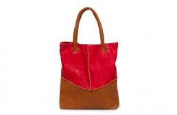 geanta rosu/ocru