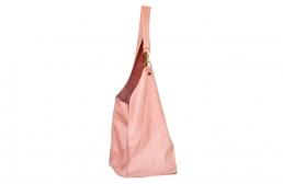 geanta roz plamaniu cu carabina