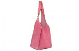geanta roz cu carabina