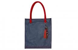 geanta dreptunghiulara cu ornament detasabil