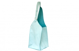 geanta bleu cu catarama