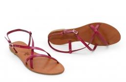 sandale mira fucsia