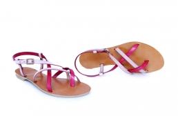sandale paula roz & nude