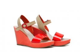 (RO) sandale  deejay coral/nude