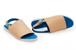 sandale cu talpa bicolora