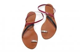 (RO) sandale sky tricolore 2