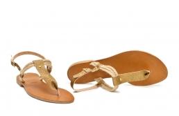 sandale sfoara aurii