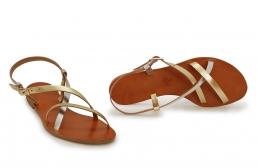 sandale mira argintiu/auriu
