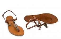 sandale cu banuti