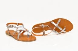 sandale paula argintii